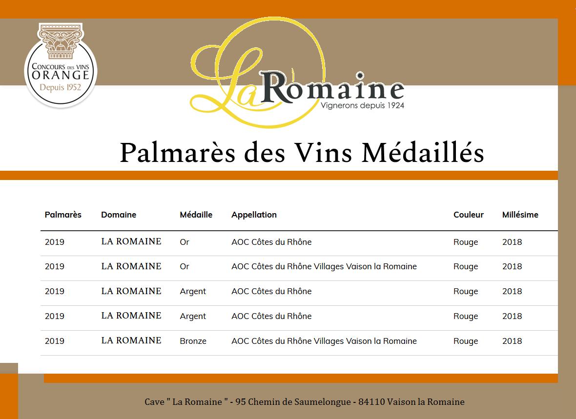 Concours des Vins  d' Orange